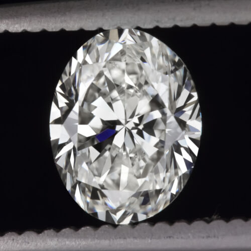 1.5ct GIA CERTIFIED I SI1 OVAL SHAPE CUT DIAMOND WHITE CLEAN NATURAL 1.5 CARAT