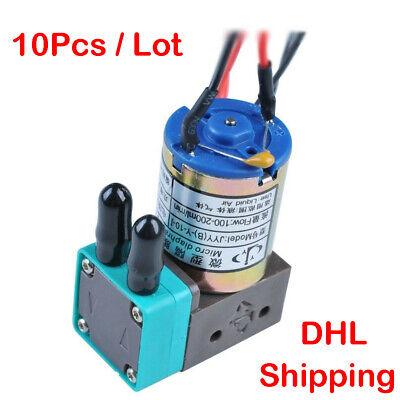 Original Micro Diaphragm Ink Pump Jyy B-y-10-1crystalinfiniti Dc 24v 3w 10pc