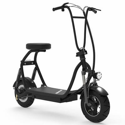 SKRT Electric Bike Scooter Up to 18.6 Miles Long-Range Battery Foldable Design