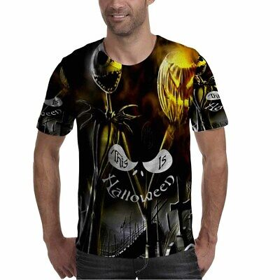 Jack Skellington Nightmare Before Christmas THIS IS HALLOWEEN New Men's Tee](Is This Halloween Jack)