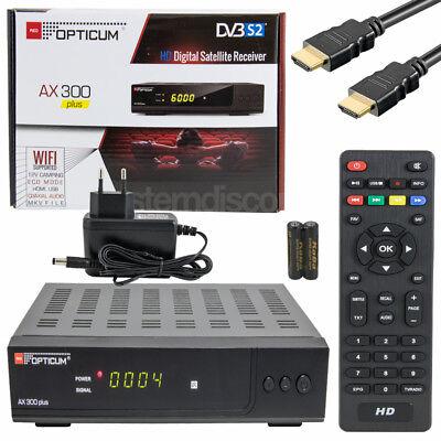 AX-300 HDMI DIGITALE SAT RECEIVER KLASSE GERÄT DIGITAL RESIVER Full HD TV USB Digital Tv Usb