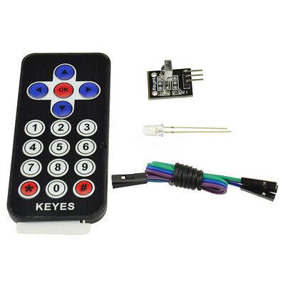 Hx1838 Vs1838 Arduino Infrared Ir Wireless Remote Control Sensor Module Kits Rdd
