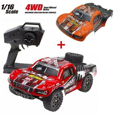 REMO 1/16 Scale RC Truck 4WD High Speed Off-Road Short Course Remote Control Car