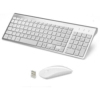 MINI WIRELESS 2.4GHZ Mouse AND Keyboard COMBO APPLE iMAC MACBOOK PRO AIR FSV Ku