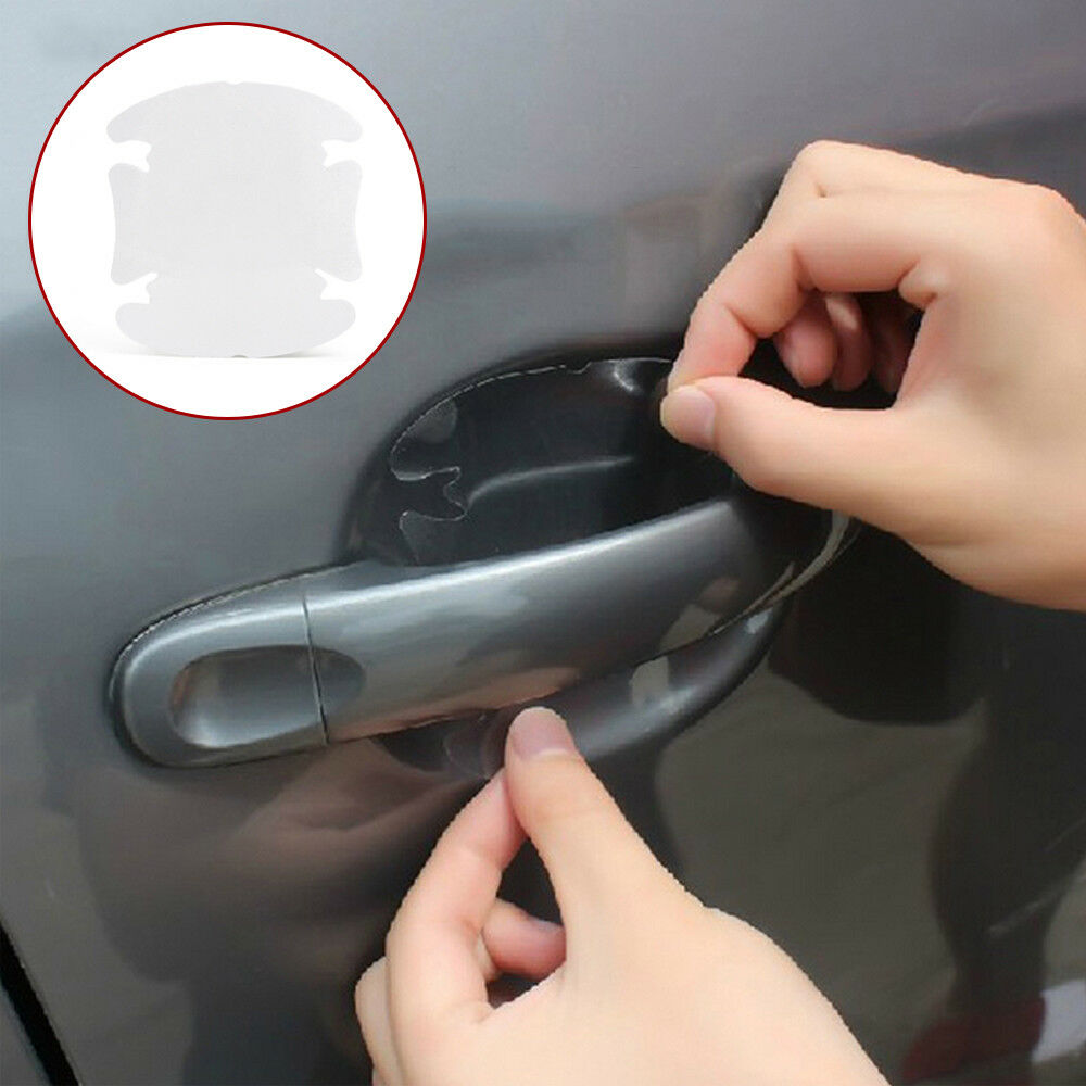 Car Parts - Clear Car Door Handle Films Sticker Protector Anti Scratch Protect Accessories