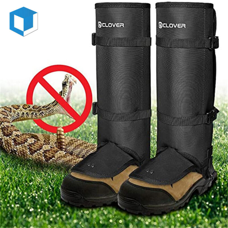 Unisex Anti Bite Snake Guard Protection Legging Gaiter Leg Cover Hiking Hunting