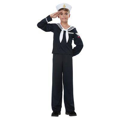 Kid Sailor Costume (Kids Navy Sailor Uniform Costume size Small)