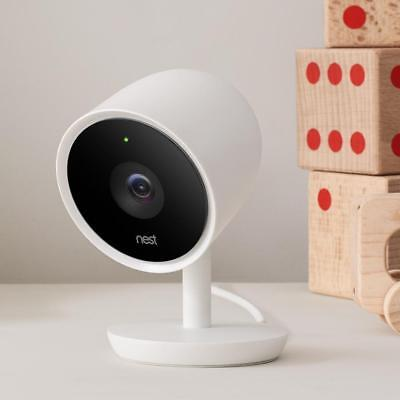 Nest Labs - NC3100US Nest Cam Indoor IQ Security Camera