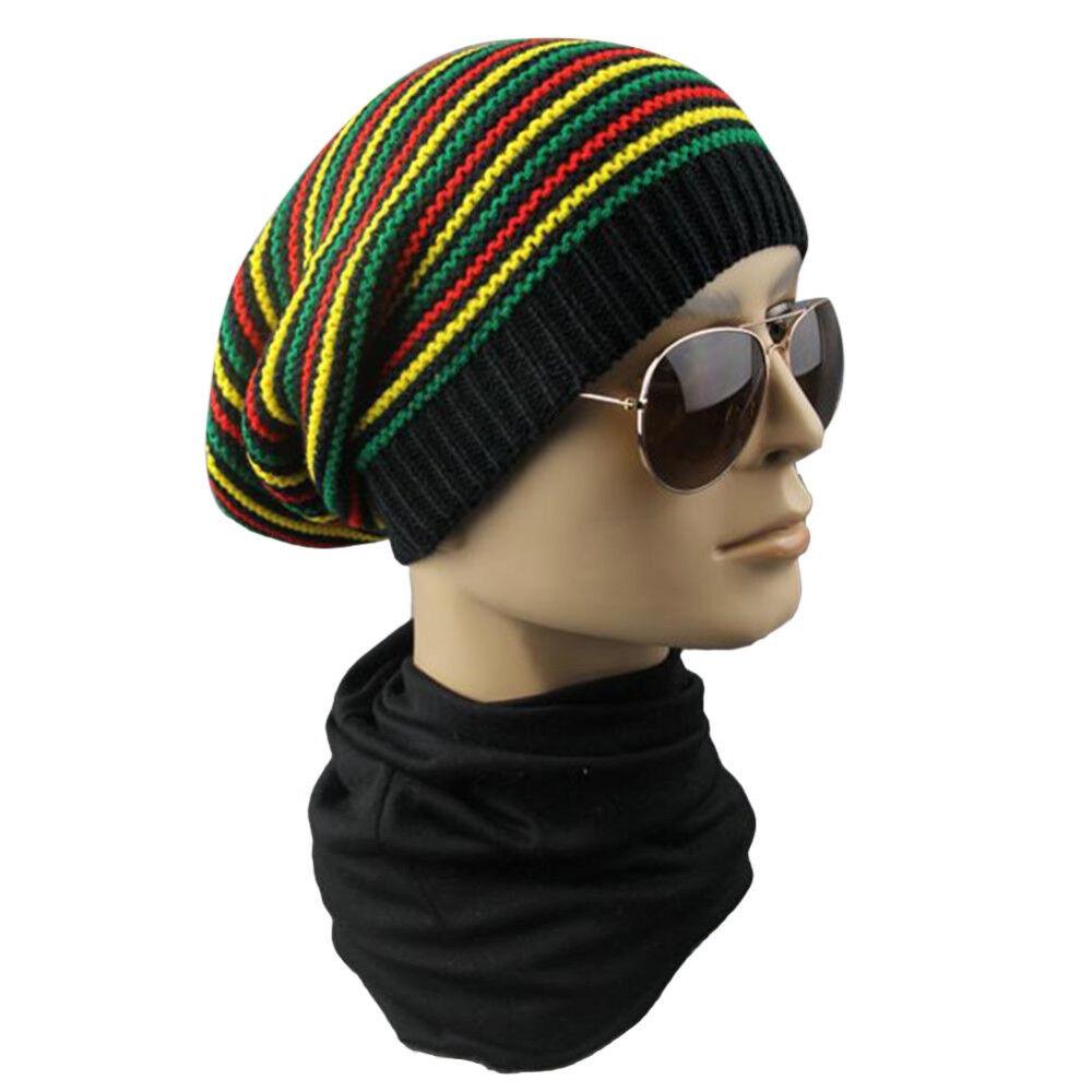 179aa79fa6f9f Details about New Rasta Reggae Bob Marley Hat Rastafari Africa Dredlocks Tam  Root Dread Cap