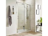 Premier Pacific Sliding Shower Door for 1200 Shower Tray