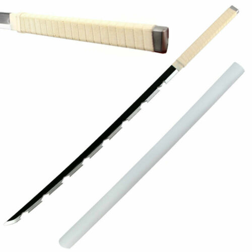 "40"" Foam Cosplay Demon Slayer Inosuke Hashibira Samurai Sword & Scabbard NEW"