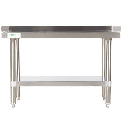 24 X 36 Upgraded All Stainless Steel Mixer Grill Heavy Table Equipment Stand