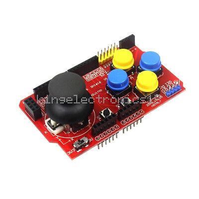 New Gamepads Joystick Keypad Shield Ps2 For Arduino Nrf24l01 Nokia 5110 Lcd