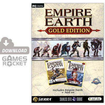 Empire Earth Gold Edition - offizieller Download Key [PC]