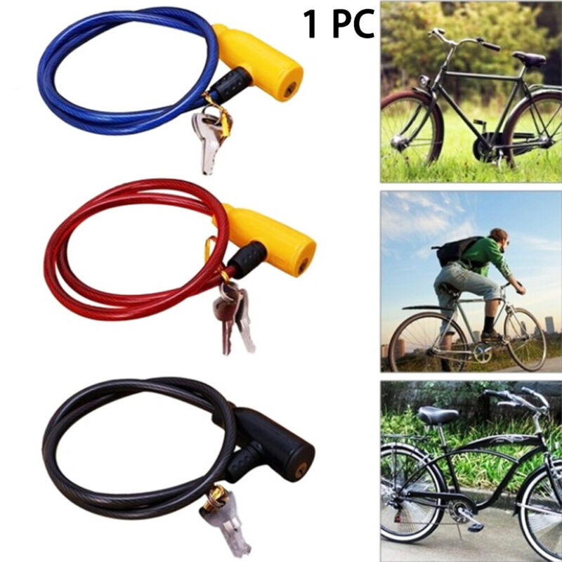 Cycling Steel Chain Bicycle Lock 5 Digit Code Scooter Safety Bike Accessories