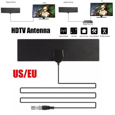 Eu Plug Flat Antenna Hd High Def Tv Fox Scout Hdtv Dtv Sky Link Skylink Cable