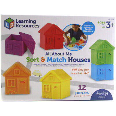Learning Resources All About Me Sort & Match Houses Colours, Matching &...