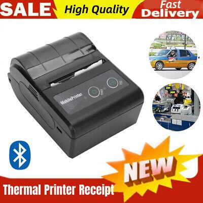Bluetooth Thermal Label Printer Wireless Pos Receipt Handheld Re