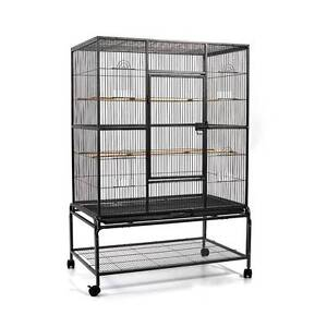 Bird Cage Pet Black Large - 140CM North Melbourne Melbourne City Preview