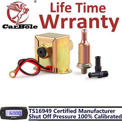 12V Volt 2.5-4PSI Universal Fuel Pump Electric Inline Low Pressure Gas Diesel US