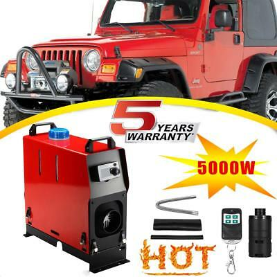 5KW 5000W 12V Air diesel Fuel Heater Kit For Car Truck Motor home Boat Bus Van