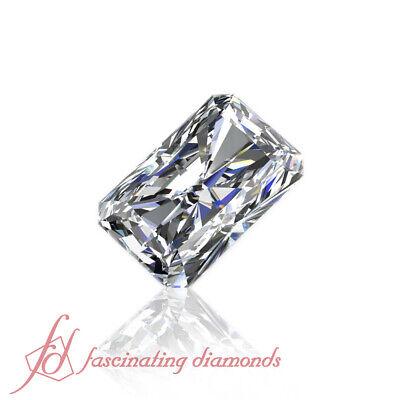 GIA Certified Eye Clean Loose Diamond - 0.50 Carat Radiant Cut Natural Diamond