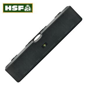 Double Rifle Case Shotgun Hard Plastic 2 Gun Box Flight HSF Defiance 136x30x13cm