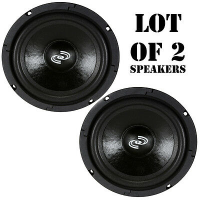 Pair of Pyle PDMR6 300W Midbass/Midrange 6.5