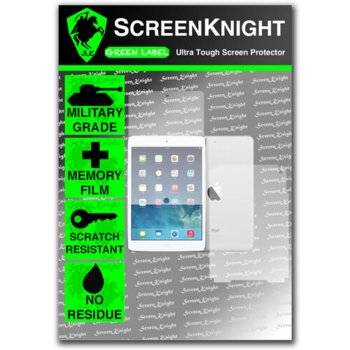 ScreenKnight Apple iPad Air 2 FULL BODY SCREEN PROTECTOR invisible Shield