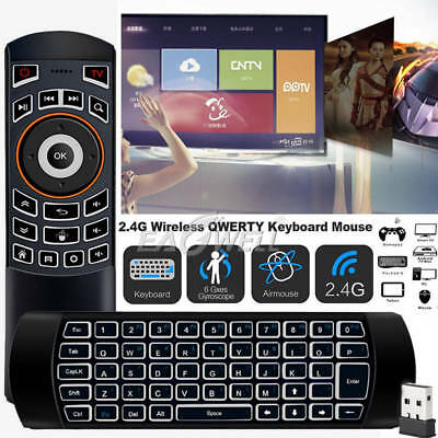 X6 Wireless Remote Keyboard Mouse for Samsung LG Smart TV Android Kodi TV (Wireless Keyboard And Mouse For Samsung Tv)