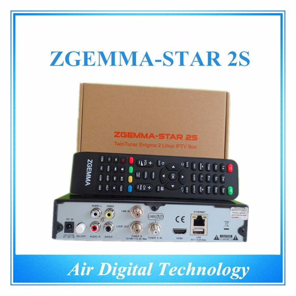 ORIGINAL ZGEMMA STAR 2S SATELLITE RECEIVER ENIGMA 2 FREE TO AIR TWIN DVB-S2  TUNE | in Harrow, London | Gumtree