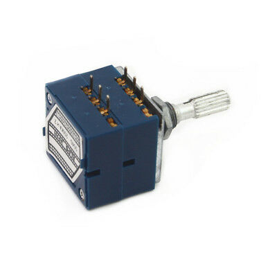 Alps Rk27 100kax2 Audio Amp Volume Control Potentiometer Pot Stereo 6pin
