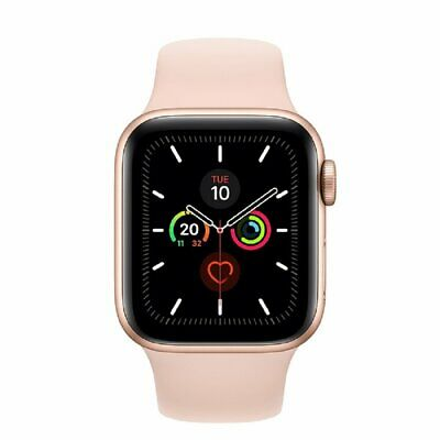 Apple Watch Series 5 GPS 40mm MWV72 Gold Aluminum Caja Rosa Sport Band