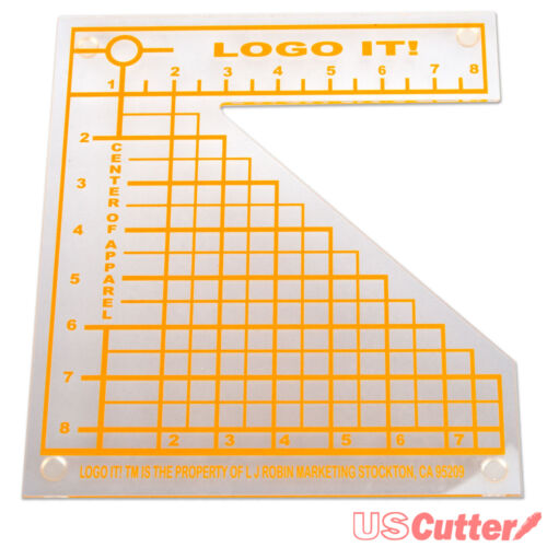 LogoIt - Heat Transfer Alignment Tool For Fast Placement, Heat Press T-shirts