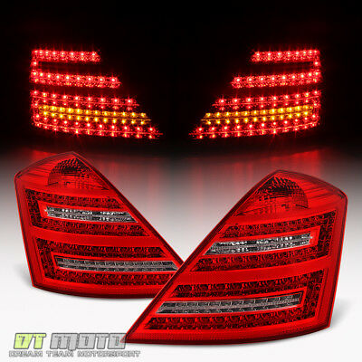 2007 2008 2009 Mercedes Benz W221 S Class S450 S600 S550 LED Tail Lights Lamps Class Led Tail Lights Lamps