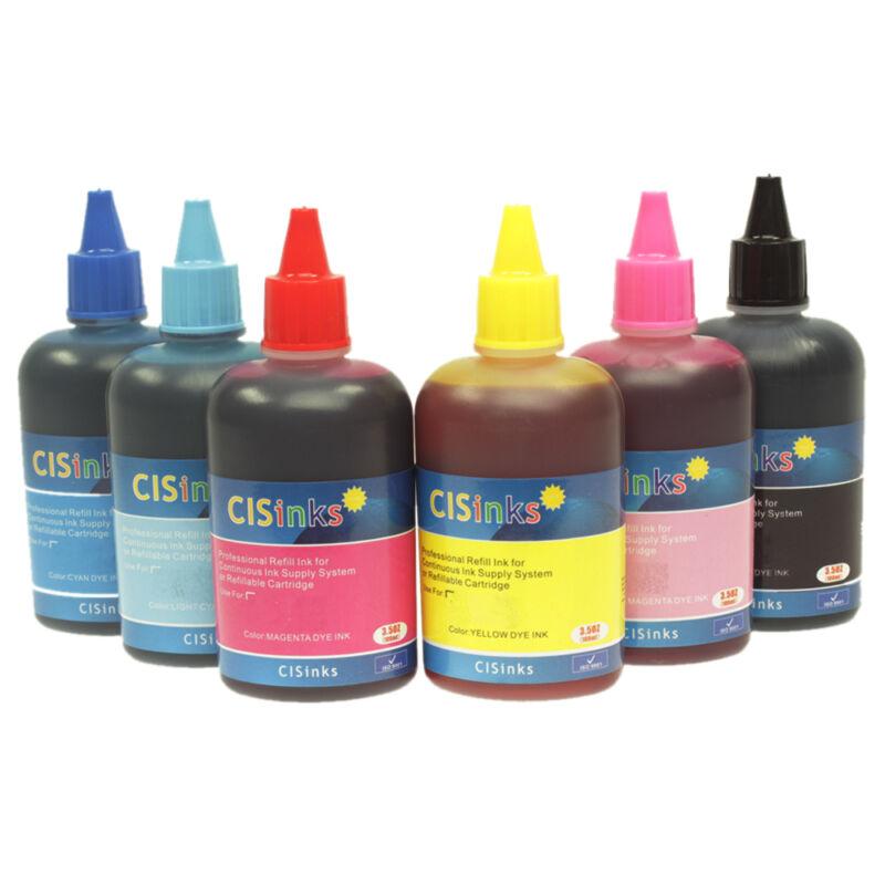 CISinks T079 Bulk Refill Ink Bottle Set alternative for Artisan 1430 1400