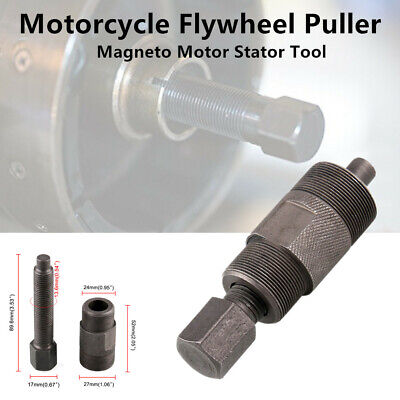 27mm 24mm Flywheel Puller Magneto Motor Stator Repair Tool fit for Honda Yamaha