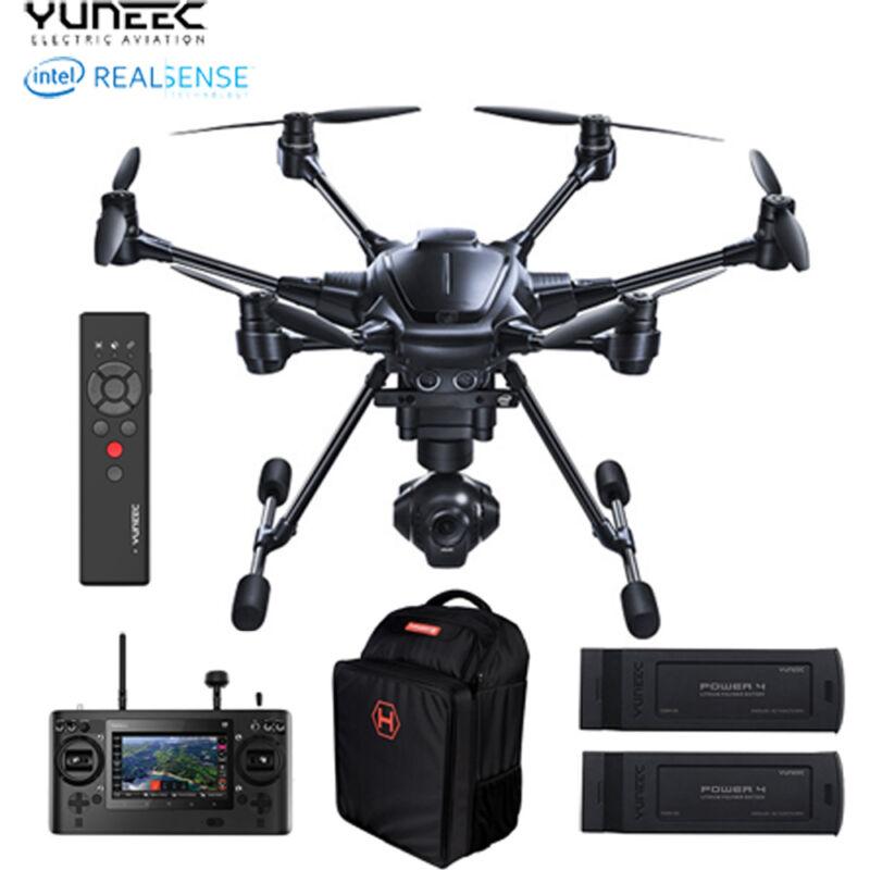 YUNEEC Typhoon H Hexacopter Pro with Intel RealSense Technology Black YUNTYHBRUS
