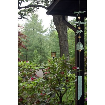 Dragonfly Wind Chimes (  Woodstock Chimes - HABITATS DRAGONFLY WIND BELL - Verdigris -GC- CDW)