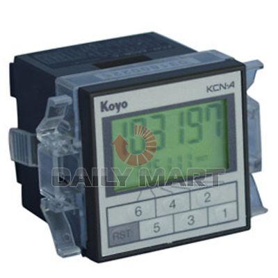 Brand New In Box Koyo Counter Kcn-4sr-c Plc Programmable Logic Controller