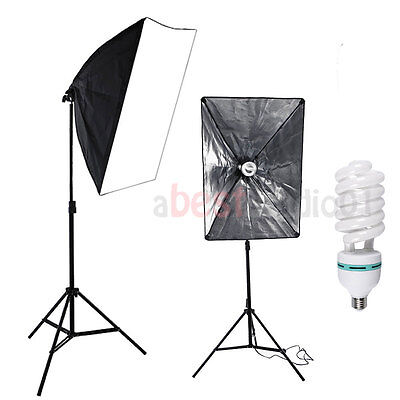 135W Lighting Softbox Photography Photo Equipment Soft Studio Light Photo Kit