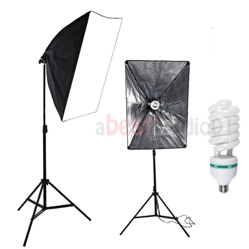 135W Lighting Softbox Photography Photo Equipment Soft Studio Light Photo Kit