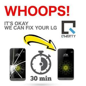 Réparation Cellulaire LG G2 G3 G4 G5 G6 G7 X-Power 1-2-3 V10 V20 V30 Q6 Stylos 2-3+ Nexus 4-5-5X K4 K7
