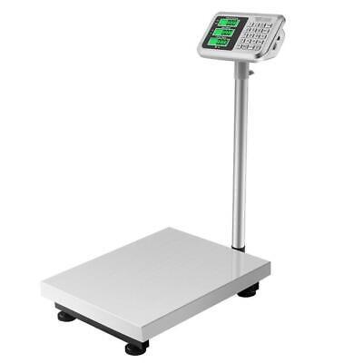 Heavy Duty 300kg660lb Platform Scale Digital Warehouse Postal Parcel Weighing