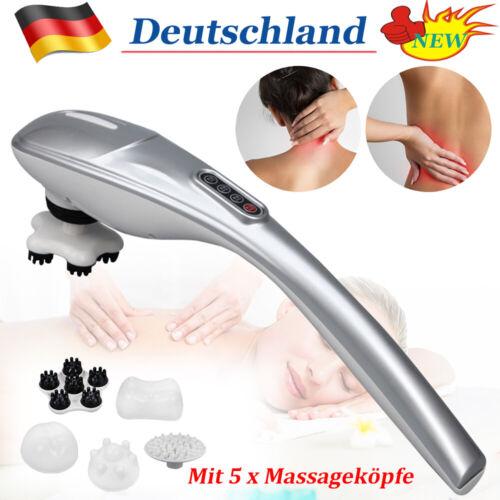 Elektrische Massagegerät Nacken Hals Schultern Rücken Vibration Handmassagegerät