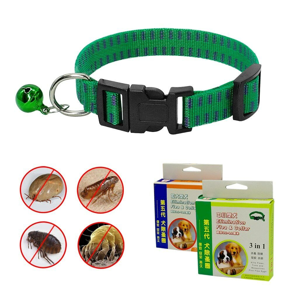 green flea and tick collar for dogs