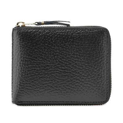 Comme Des Garçons SA7100IC Black Leather Unisex Wallet BNIB $159 -50% OFF