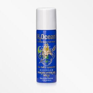 H2Ocean Purified Ocean Salt Water Piercing Aftercare Spray - 1.5 Oz. (44.36 mL)