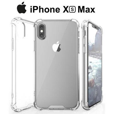 Funda Gel TPU Transparente Antigolpes para iPhone XS Max