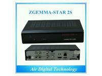 Zgemma star 2s remote 500gb harddrive.